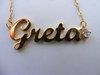 Namenskette 'Standard' - Greta