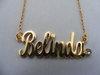 Namenskette 'Standard' - Belinda