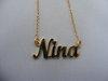Namenskette 'Standard' - Nina